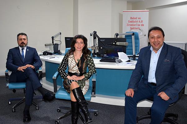 TEVMOT Proje Müdürü Mustafa Salman Ve Kıdemli Finans Danışmanı Asuman Sönmez