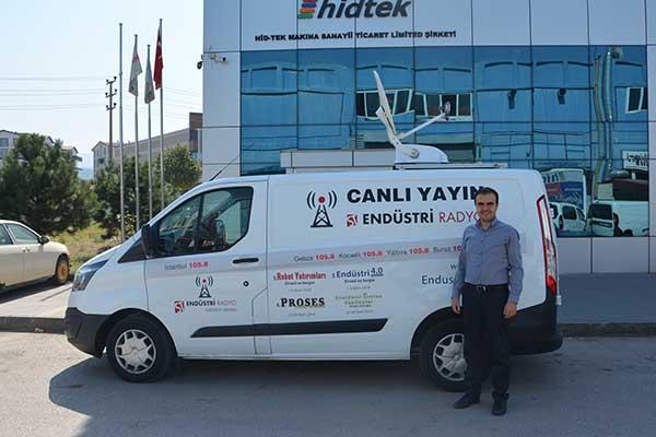 Hid-Tek  Proje Ve Pazarlama Sorumlusu Mustafa Dağdelen