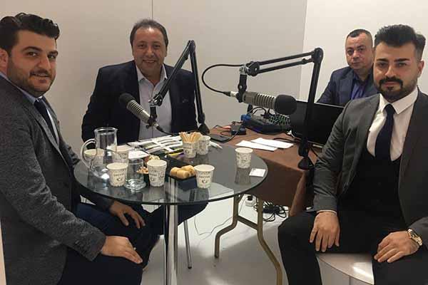 Enelsan Genel Müdür Yardımcısı Bilal Aşgenaz & Gentek Elektronik Satış Müdürü Murat Balcı