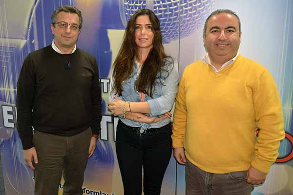 Coop TRR Int. AG Türkiye Koordinatörleri Samet Özkan&Göksu Bağlan: Avrupa Türk Seyahat Acenteleri Birliği