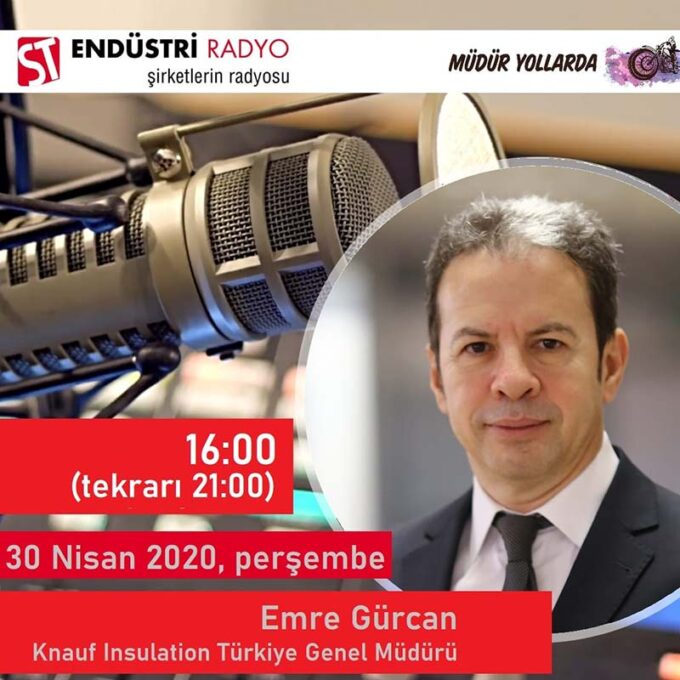 Knauf Insulation Türkiye Genel Müdürü Emre Gürcan: Yeni Bir Fırın Teknolojisini Dünyada Ilk Kez Uyguladık