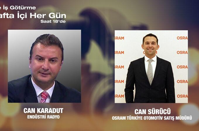 Osram Türkiye Otomotiv Satış Müdürü Can Sürücü: Otomotiv Aydınlatma Sektörü