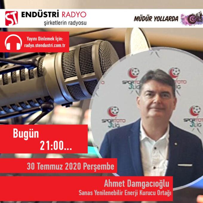 Sanas Yenilenebilir Enerji Kurucu Ortağı Ahmet Damgacıoğlu: Enerjinin Yenilenebilir Tarafı