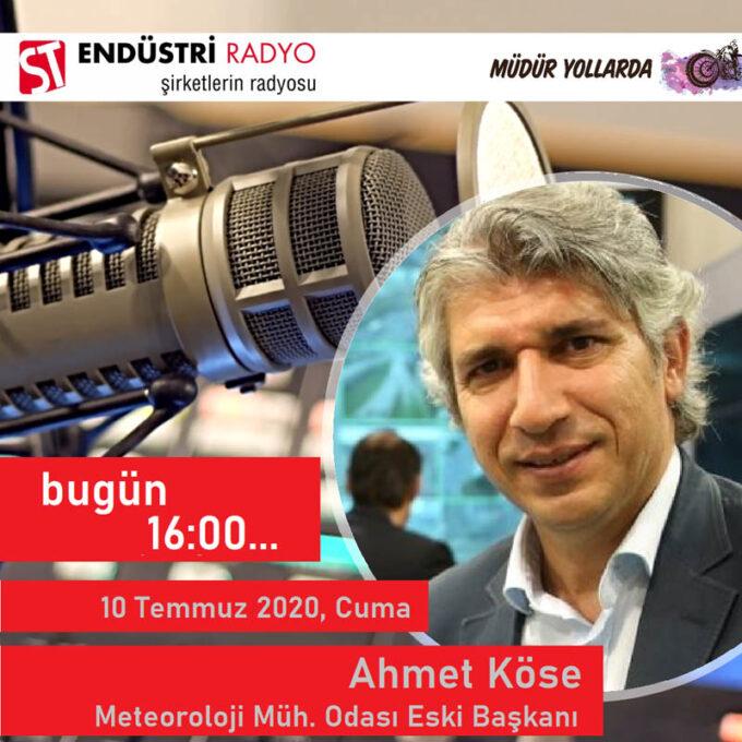 Meteoroloji Mühendisleri Odası 29. Dönem Başkanı Ahmet Köse: Enerjinin Iklim Tarafı