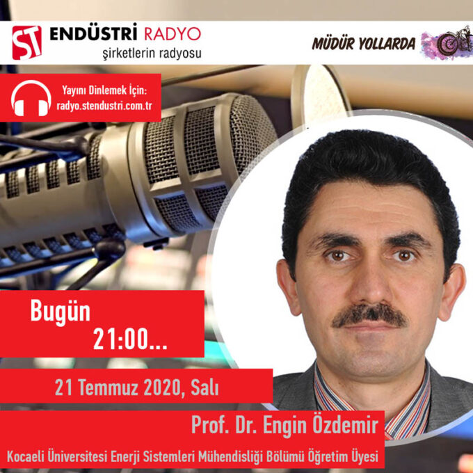 Kocaeli Üniversitesi Enerji Sistemleri Mühendisliği Bölümü Öğretim Üyesi Prof. Dr. Engin Özdemir: Enerji Sistemleri Mühendisliği Nedir?