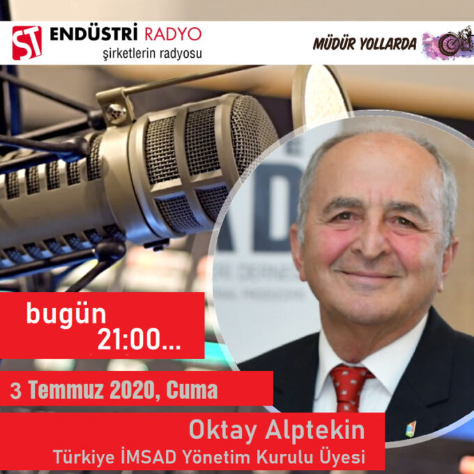 Türkiye İMSAD Yönetim Kurulu Üyesi Oktay Alptekin: İnşaat Malzemeleri