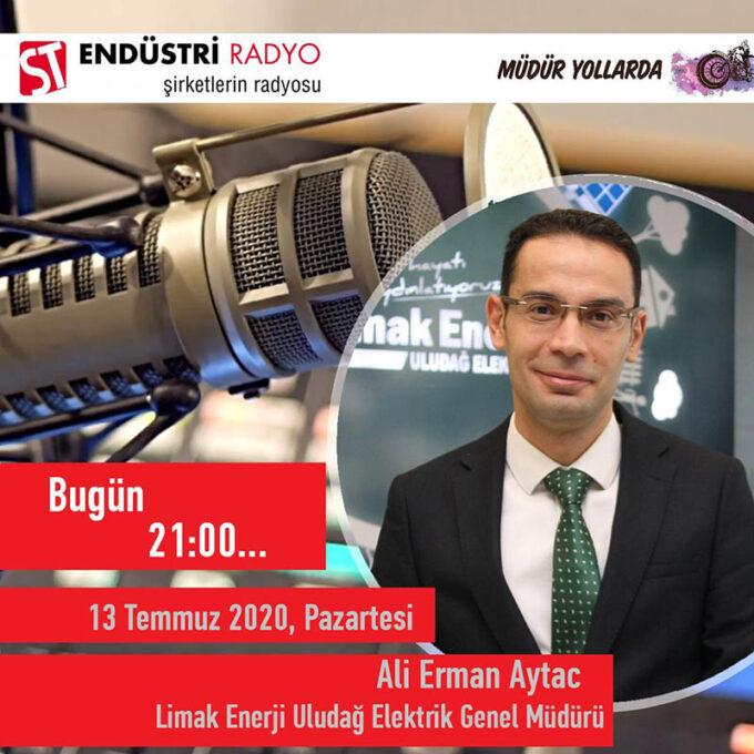 Limak Enerji Uludağ Elektrik Genel Müdürü Ali Erman Aytac: Enerji Iletimi