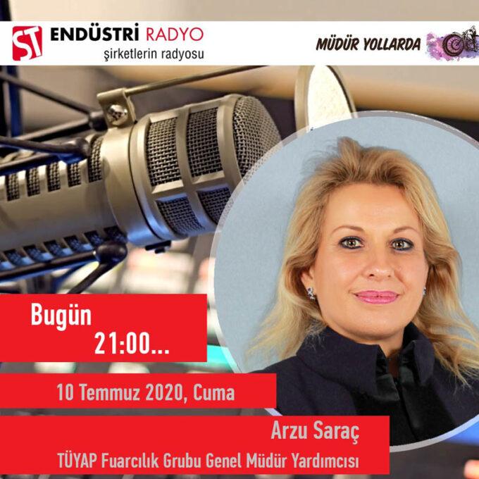TÜYAP Fuarcılık Grubu Genel Müdür Yardımcısı Arzu Saraç: Ticari Binalar