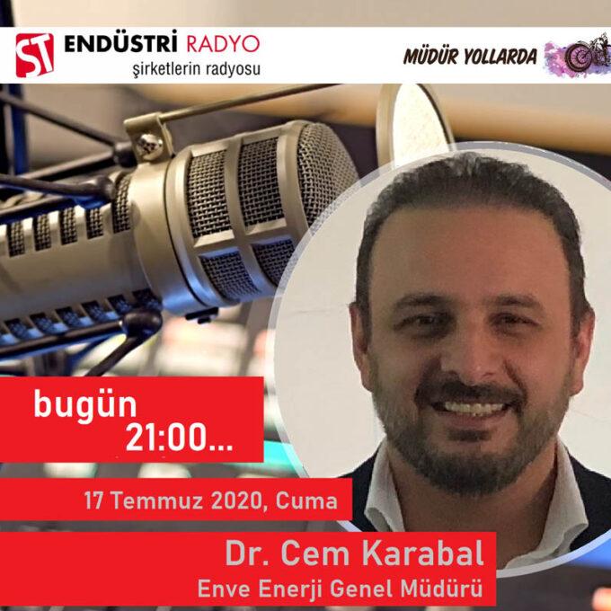 Enve Enerji Genel Müdürü Dr. Cem Karabal: Enerji Sektörü