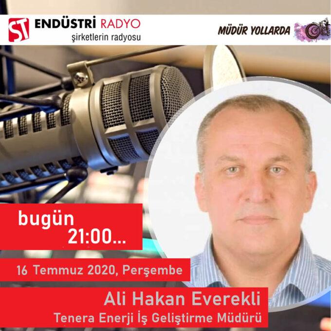 Tenera Enerji İş Geliştirme Müdürü Ali Hakan Everekli: Enerji Sektörü