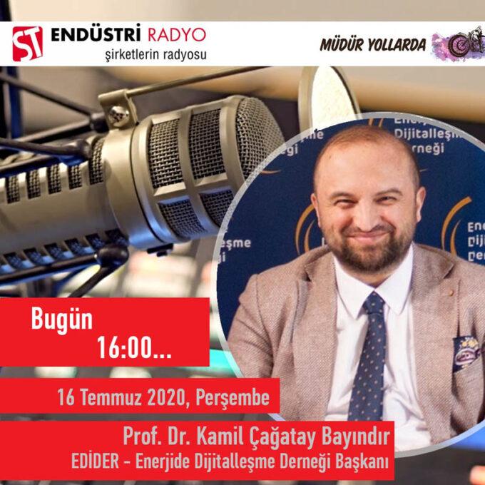 EDİDER – Enerjide Dijitalleşme Derneği Yönetim Kurulu Başkanı Prof. Dr. Kamil Çağatay Bayındır: Enerjide Dijitalleşme