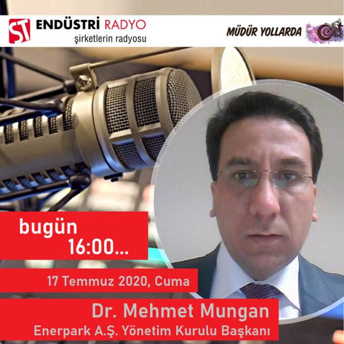 Enerpark Enerji Teknoloji A.Ş. Yönetim Kurulu Başkanı Dr. Mehmet Mungan: Enerjinin üretim Ve Dağıtımı