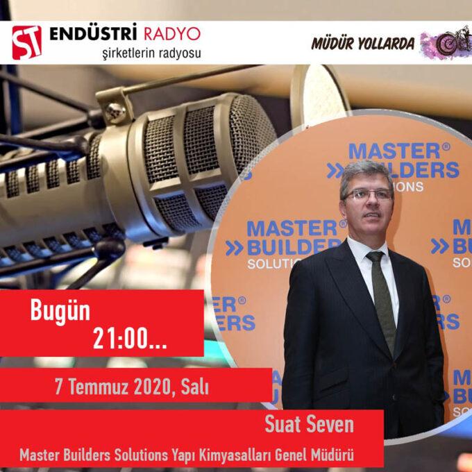 Master Builders Solutions Yapı Kimyasalları Genel Müdürü Suat Seven: Yapı Kimyasalları Sektörü