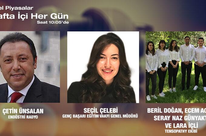 Genç Başarı Eğitim Vakfı Genel Müdürü Seçil Çelebi Ve Tensopathy Ekibi Beril Doğan, Ecem Acar, Seray Naz Günyaktı Ve Lara İçli: Başarılı Genç Türk Girişimcileri Istikrarını Devam Ettiriyor