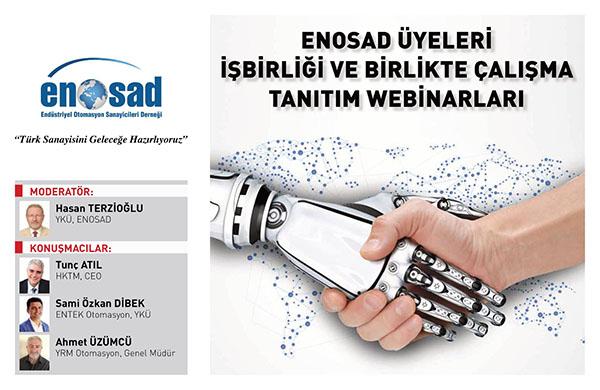 """ENOSAD """"Türk Sanayisini Geleceğe Hazırlıyoruz"""" Webinar Serisi 1. Bölüm"""