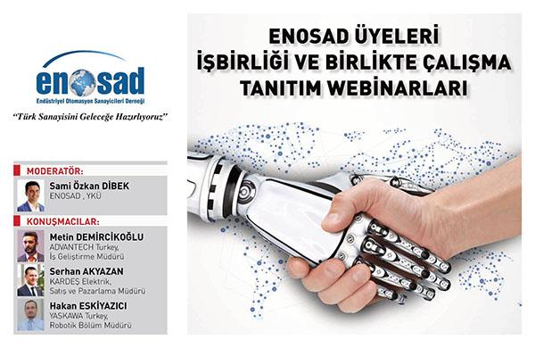 """ENOSAD """"Türk Sanayisini Geleceğe Hazırlıyoruz"""" Webinar Serisi 2. Bölüm"""