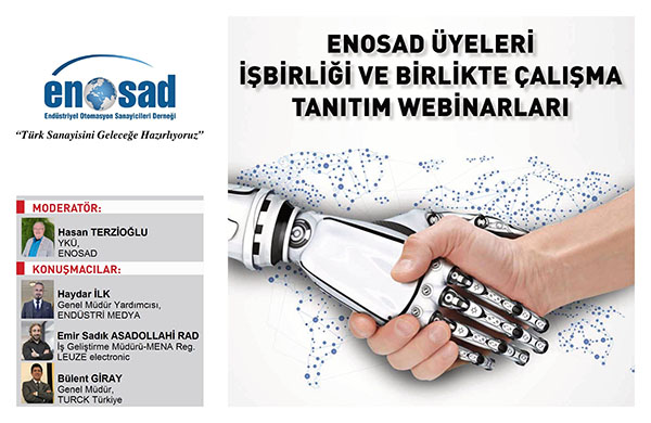 """ENOSAD """"Türk Sanayisini Geleceğe Hazırlıyoruz"""" Webinar Serisi 5. Bölüm"""