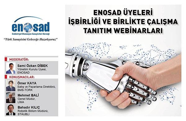 """ENOSAD """"Türk Sanayisini Geleceğe Hazırlıyoruz"""" Webinar Serisi 7. Bölüm"""