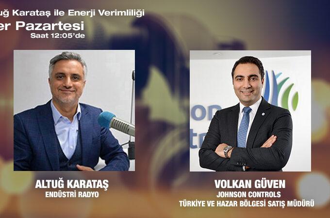 Johnson Controls Türkiye Ve Hazar Bölgesi Satış Müdürü Volkan Güven: Kovid-19 Ile Mücadelede Iklimlendirme Yönünden Ne Yapılabilir?