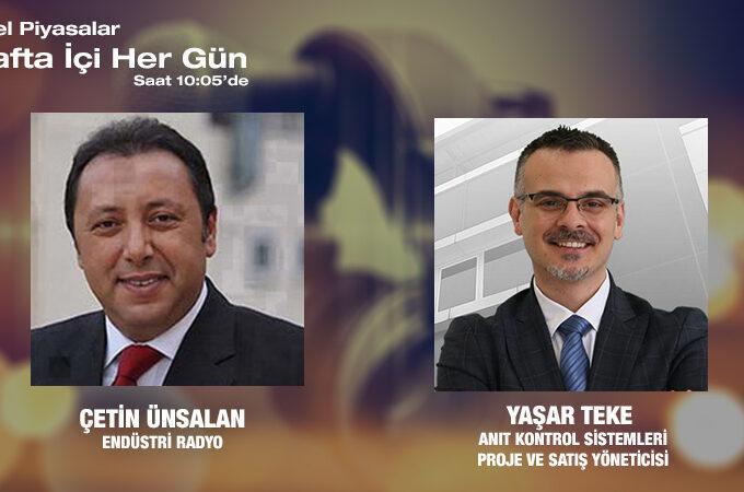 Anıt Kontrol Sistemleri Proje Ve Satış Yöneticisi Yaşar Teke: Robotik Teknolojiler Ve Otomasyon Sistemlerinde Dünyada Ve Türkiye'deki Gelişmeler