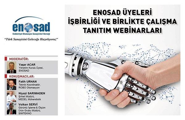 """ENOSAD """"Türk Sanayisini Geleceğe Hazırlıyoruz"""" Webinar Serisi 12. Bölüm"""