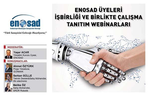 """ENOSAD """"Türk Sanayisini Geleceğe Hazırlıyoruz"""" Webinar Serisi 8. Bölüm"""