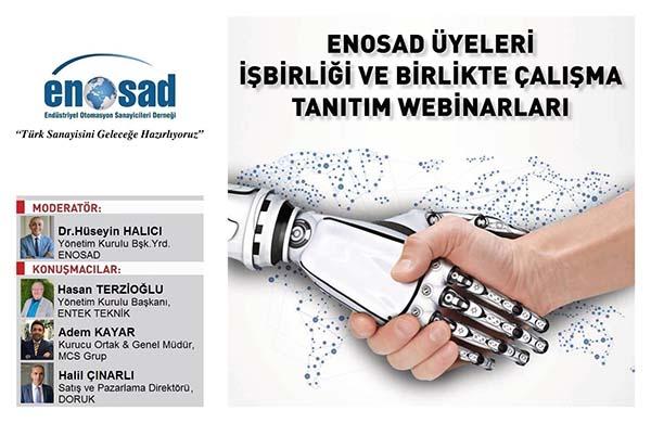 """ENOSAD """"Türk Sanayisini Geleceğe Hazırlıyoruz"""" Webinar Serisi 9. Bölüm"""