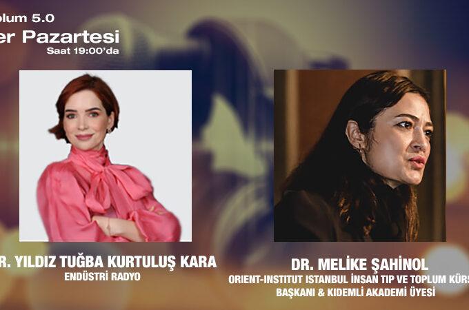 Orient-Insttut İstanbul İnsan Tıp Ve Toplum Kürsüsü Başkanı & Kıdemli Akademi Üyesi Dr. Melike Şahinol: Toplum 5.0 Ve Sağlık Sektörünün Geleceği