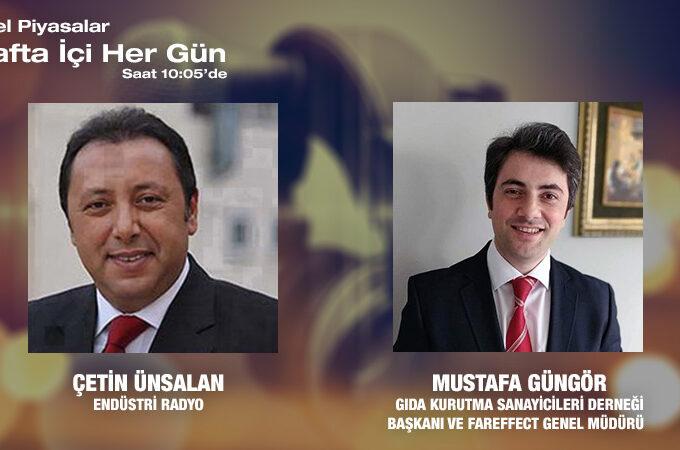 Gıda Kurutma Sanayicileri Derneği Başkanı Ve Fareffect Genel Müdürü Mustafa Güngör: Gıda Kurutma Ile Birlikte Türkiye'nin Sağlayacağı Fayda