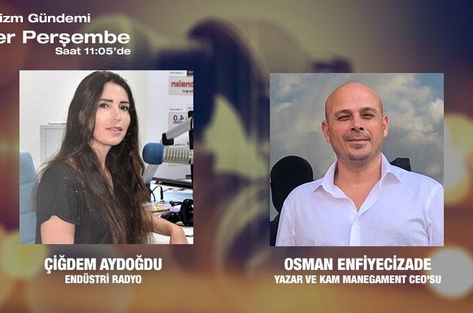Yazar Ve Kam Manegament CEO'su Osman Enfiyecizade: Kültür Ve Sanatın Yaşama Etkisi
