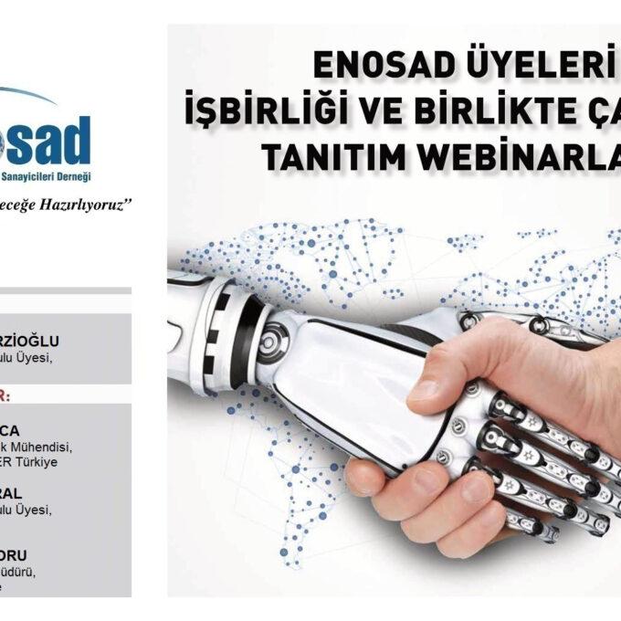 """ENOSAD """"Türk Sanayisini Geleceğe Hazırlıyoruz"""" Webinar Serisi 15. Bölüm"""
