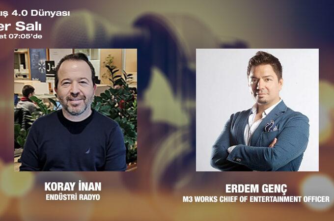 M3 Works Chief Of Entertainment Officer Erdem Genç: Oyunlarla Ekip Olmak