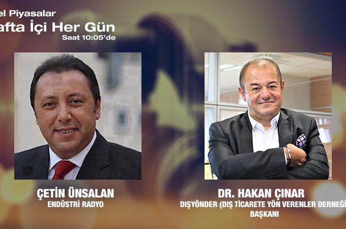 DIŞYÖNDER (Dış Ticarete Yön Verenler Derneği) Başkanı Dr. Hakan Çınar: 'O Da Okusun' Projesi