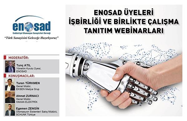 """ENOSAD """"Türk Sanayisini Geleceğe Hazırlıyoruz"""" Webinar Serisi 22. Bölüm"""
