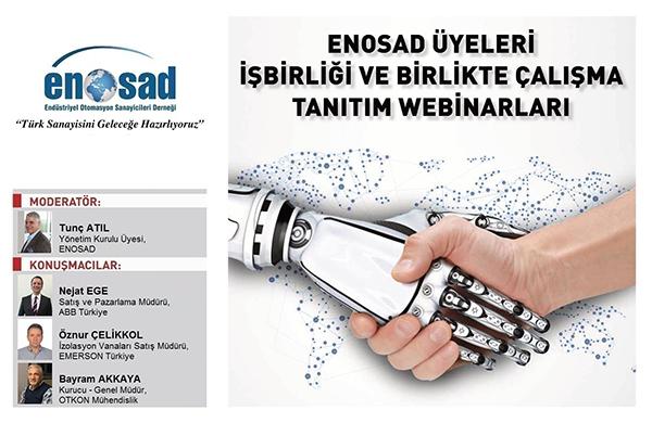 """ENOSAD """"Türk Sanayisini Geleceğe Hazırlıyoruz"""" Webinar Serisi 24. Bölüm"""