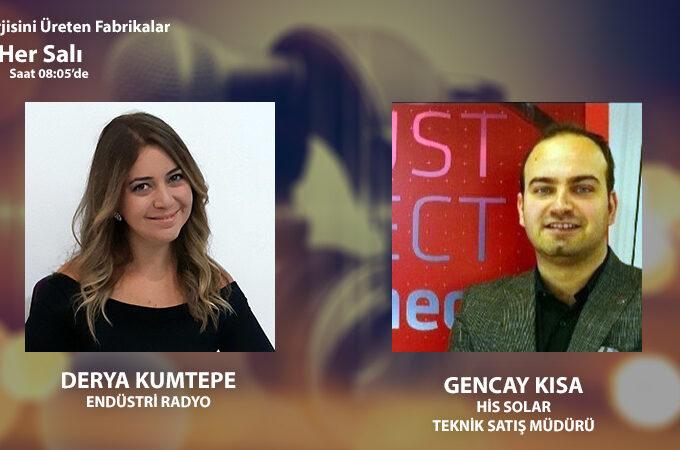 His Solar Teknik Satış Müdürü Gencay Kısa: Güneş Enerjisi Sistemlerinin Damarları Olan Kablolar