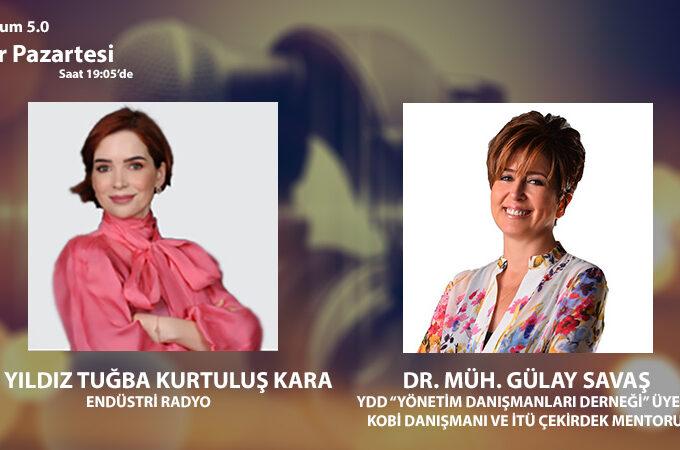 """YDD """"Yönetim Danışmanları Derneği"""" üyesi, KOBİ Danışmanı Ve İTÜ Çekirdek Mentoru Dr. Müh. Gülay Savaş: Toplum 5.0'da Akıllı Şirket Ve Akıllı Yatırımcı"""