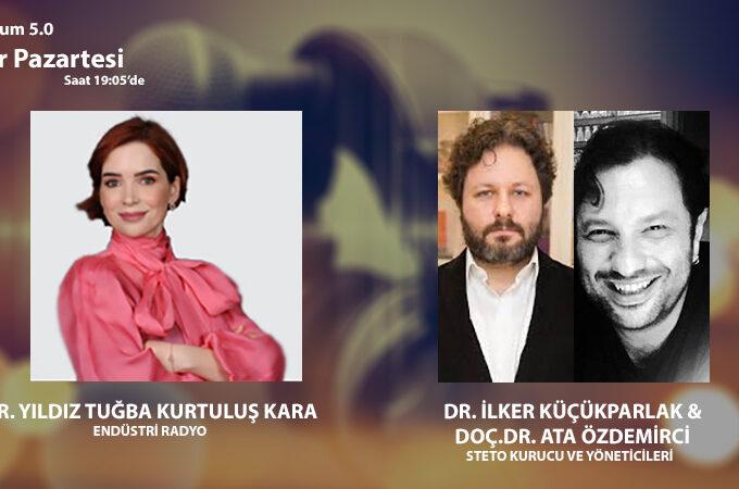 STETO Kurucu Ve Yöneticileri Dr. İlker Küçükparlak & Doç.Dr. Ata Özdemirci: Toplum 5.0 Ve Teletıp