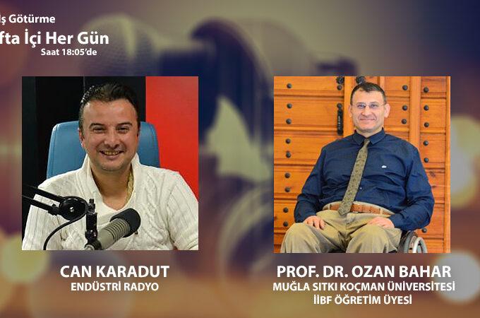 Muğla Sıtkı Koçman Üniversitesi İİBF Öğretim Üyesi Prof. Dr. Ozan Bahar: Yeni İpek Yolu Turizminin Geliştirilmesinde Politika Ve Güç İlişkisi