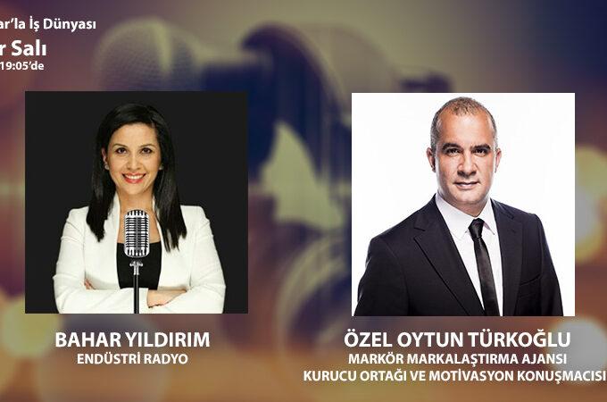 Markör Markalaştırma Ajansı Kurucu Ortağı Ve Motivasyon Konuşmacısı Özel Oytun Türkoğlu: Geçen Sene 100'ün üzerinde Konuşma Gerçekleştirdim