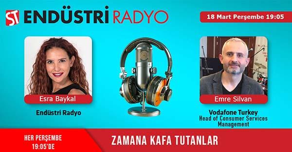 Vodafone Turkey Head Of Consumer Services Management Emre Silvan: Çağrı Merkezi Sektörü