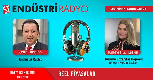 Türkiye Eczacılar Deposu Yönetim Kurulu Başkanı Hümeyra Gökçen Keskin: Pandemi Sebebiyle Artan Nitril Eldiven Ihtiyacı