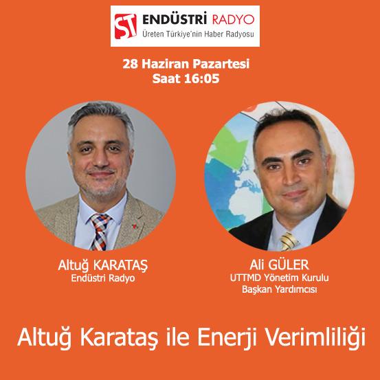 UTTMD Yönetim Kurulu Başkan Yardımcısı Ali Güler: Tesislerde Enerji Yönetimi