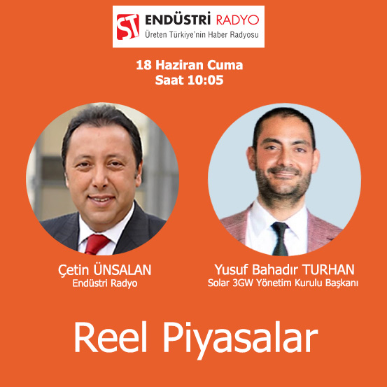 Solar 3GW Yönetim Kurulu Başkanı Yusuf Bahadır Turhan: Güneş Enerjisinde Yeni Iş Modelleri