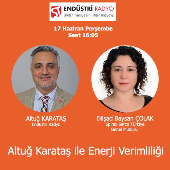 Spirax Sarco Türkiye Genel Müdürü Dilşad Baysan Çolak: Buhar Sistemlerinde Enerji Verimliliği