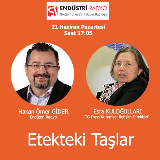 TG Expo Kurumsal İletişim Direktörü Esra Kuloğulları: Fuarcılığın ülkemize Katkıları Ve Geleceği