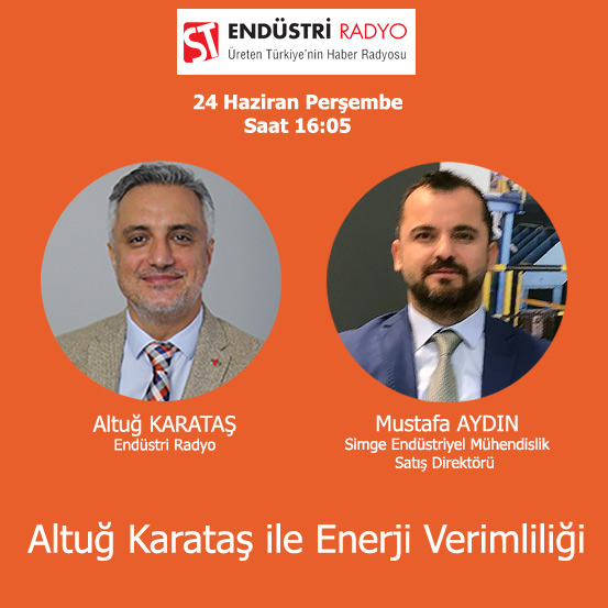 Simge Endüstriyel Mühendislik Satış Direktörü Mustafa Aydın: Elektrik Motorlarında Enerji Verimliliği