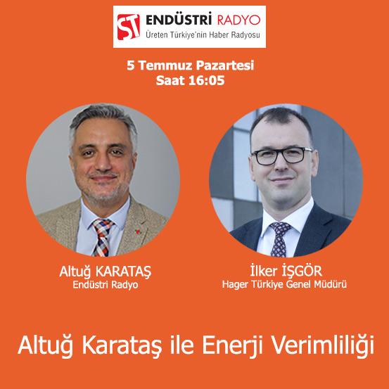 Hager Türkiye Genel Müdürü İlker İşgör: Konutlara Yönelik Enerji Verimliliği Tavsiyeleri
