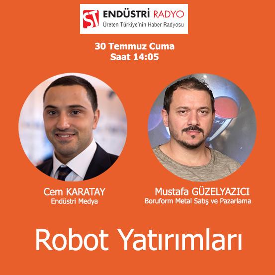 Boruform Metal Satış Ve Pazarlama Müdürü Mustafa Güzelyazıcı: Mobilya Sektöründe Robotlu üretim