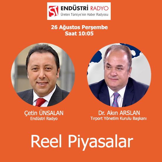 Tırport Yönetim Kurulu Başkanı Dr. Akın Arslan: Global Lojistik Sektörü Nasıl Dijitalleşiyor
